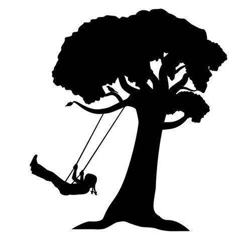 Tree with swing clipart silhouette clip transparent Free Tree Swing Cliparts, Download Free Clip Art, Free Clip ... clip transparent