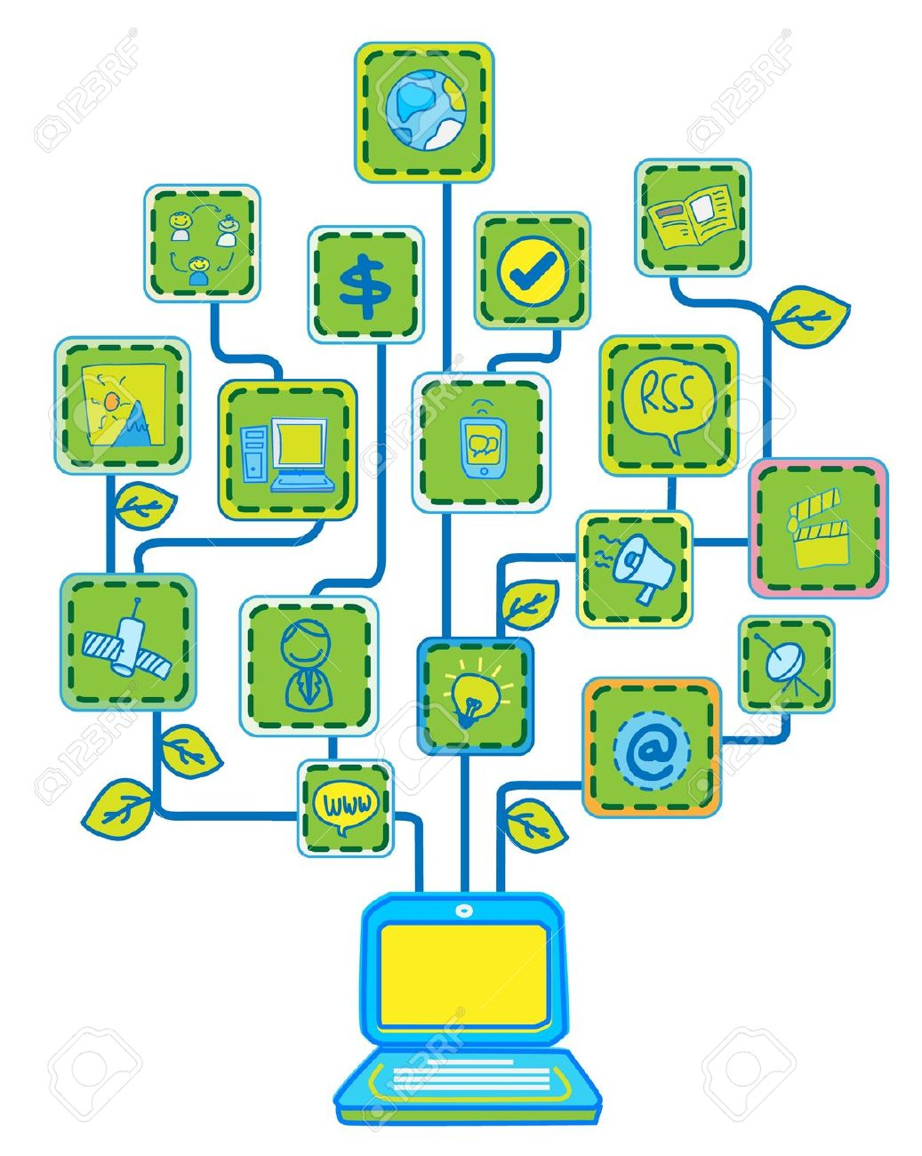 Tree with technology clipart image royalty free stock Tree with technology clipart - ClipartFox image royalty free stock
