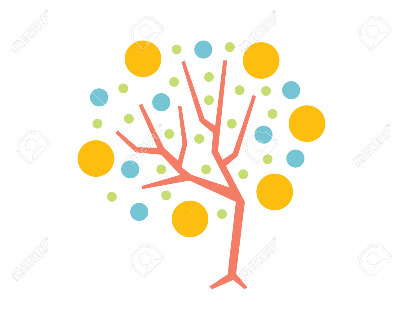 Tree with technology clipart clip art transparent download Modern Tree - High Technology Tree Node Symbol Royalty Free ... clip art transparent download