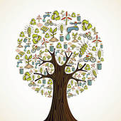 Tree with technology clipart svg library library Technology tree clipart - ClipartFest svg library library