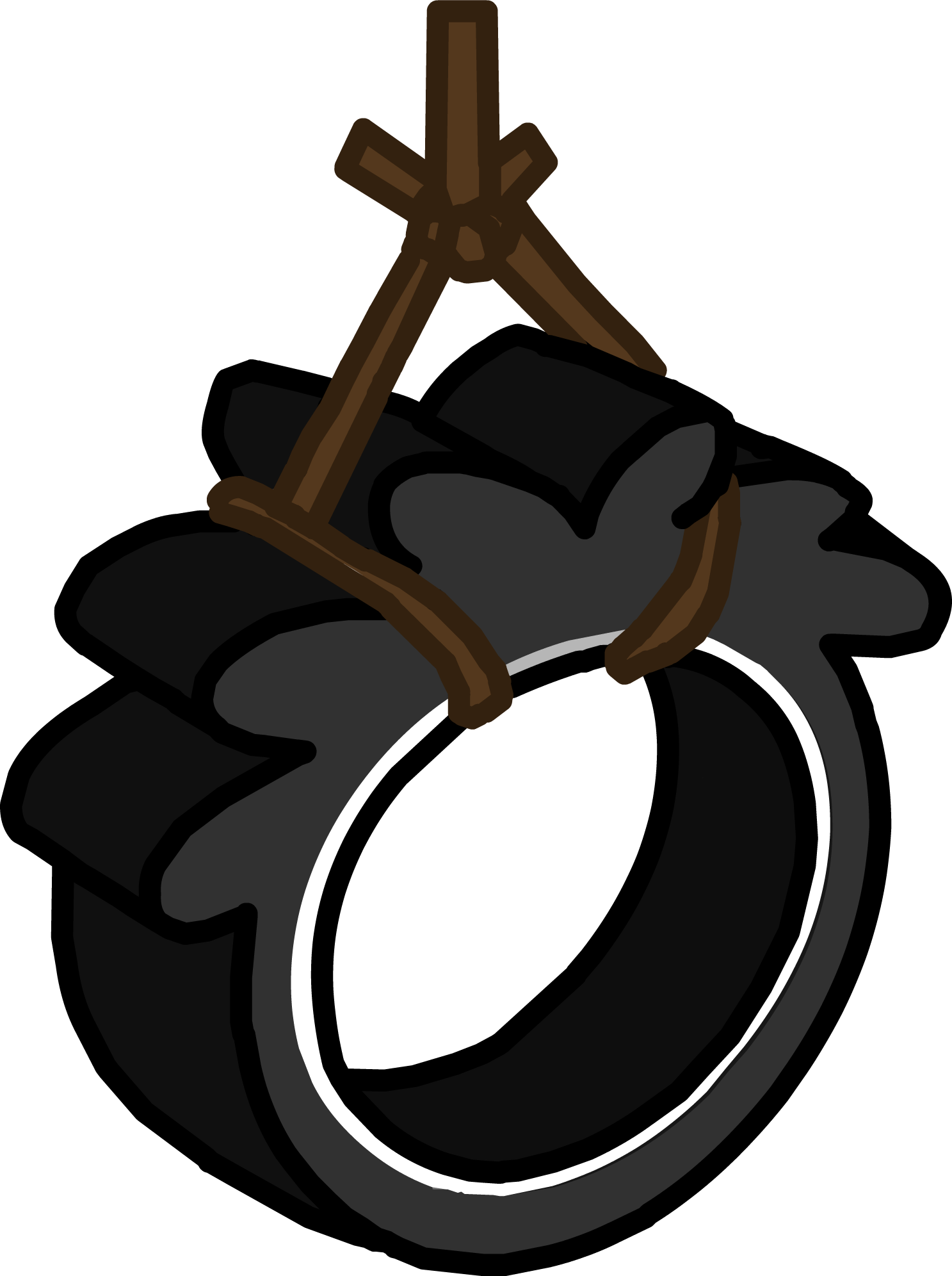 Tree with tire swing clipart graphic library stock Puffle Tire Swing | Club Penguin Wiki | FANDOM powered by Wikia graphic library stock