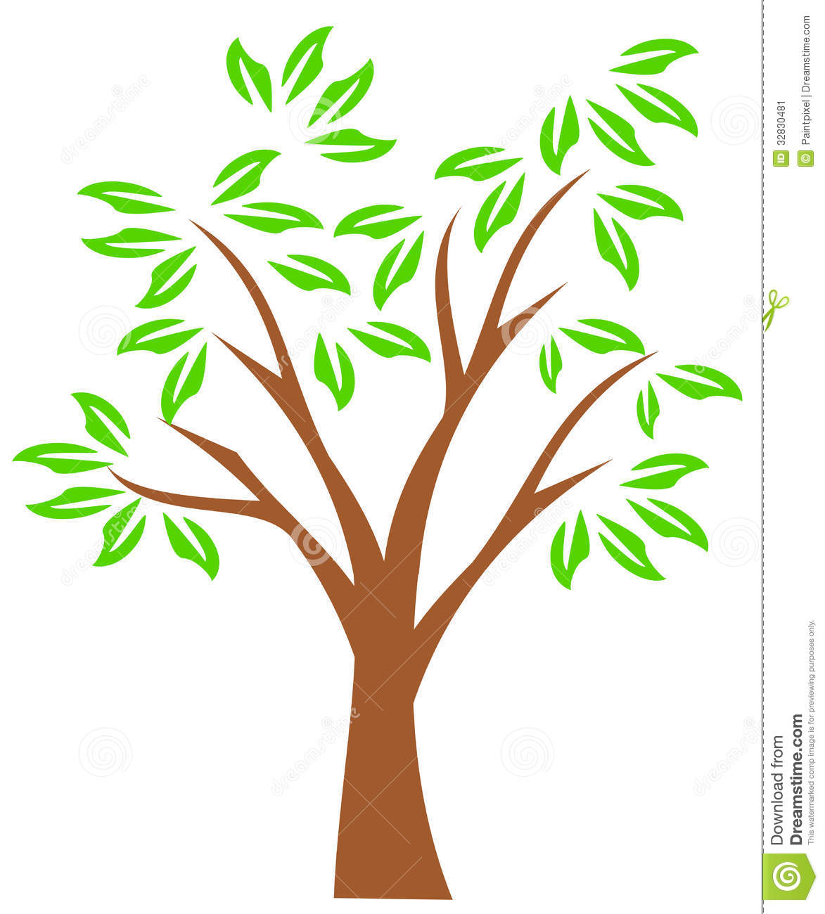 Tree with tree branches clipart clip black and white Tree with tree branches clipart - ClipartFest clip black and white