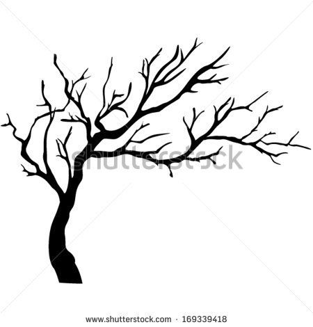 Tree with tree branches clipart vector free download Realistic Apple Tree Drawing | Clipart Panda - Free Clipart Images ... vector free download