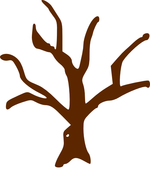 Brown tree trunk clipart jpg black and white Tree Clip Art at Clker.com - vector clip art online, royalty free ... jpg black and white