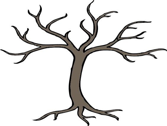 Tree with tree branches clipart clip art stock cartoon trees with branches | Tree With 3 Branches clip art ... clip art stock