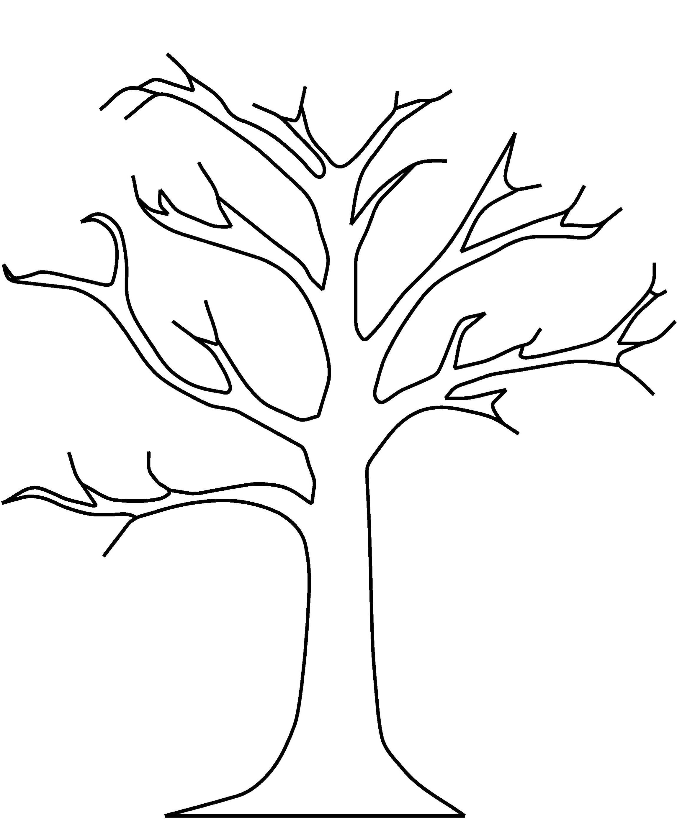Tree without leaves clipart black and white clipart free Best 15 Top Leaf Black And White Tree No Leaves Clipart ... clipart free