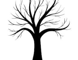 Tree without leaves clipart black and white banner free library Tree with leaves clipart black and white » Clipart Portal banner free library