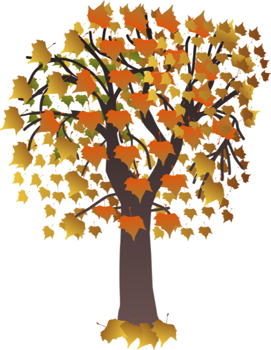 Blooming tree clipart