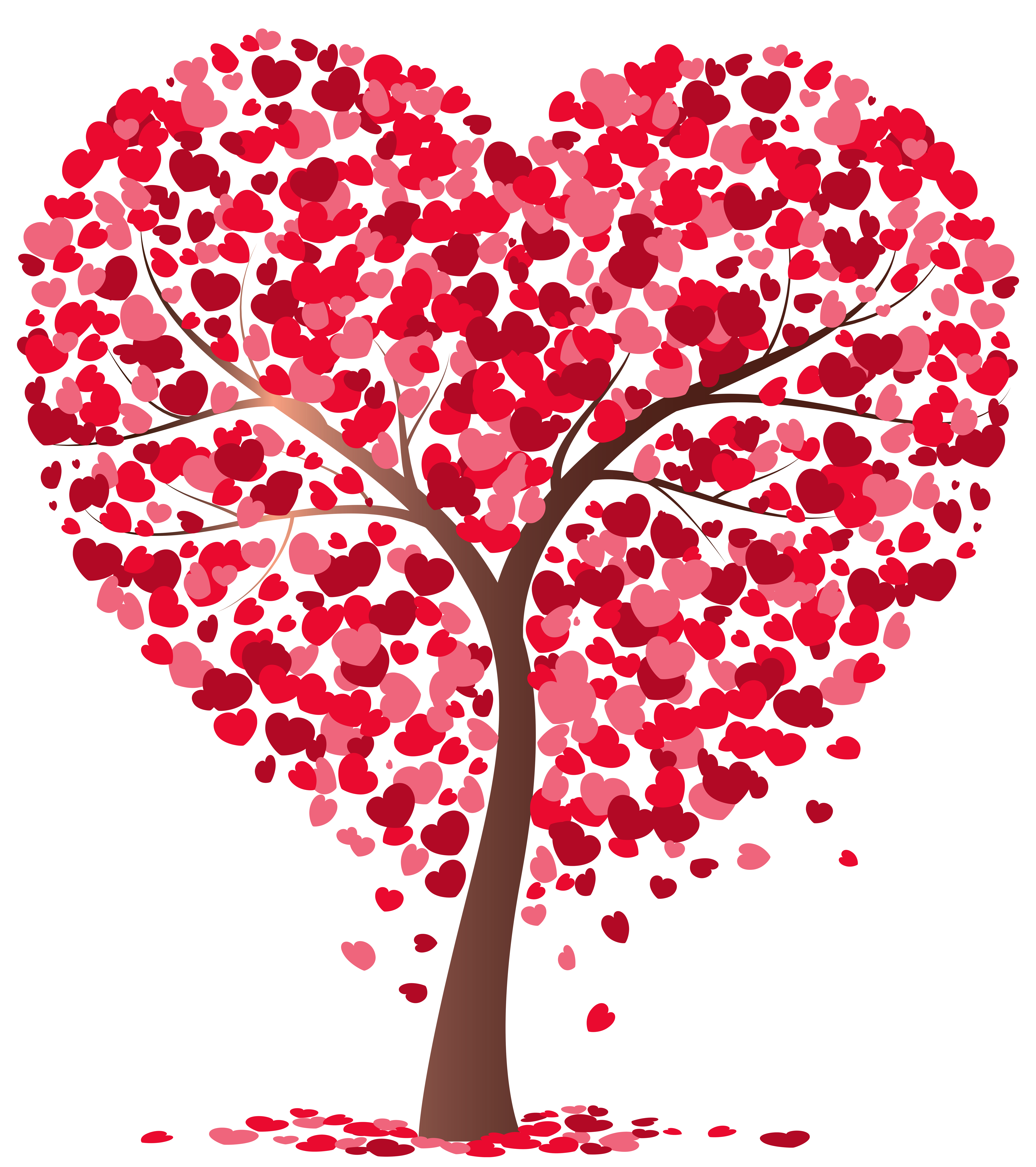 Tree with hearts clipart picture free stock Heart Tree Transparent PNG Image picture free stock