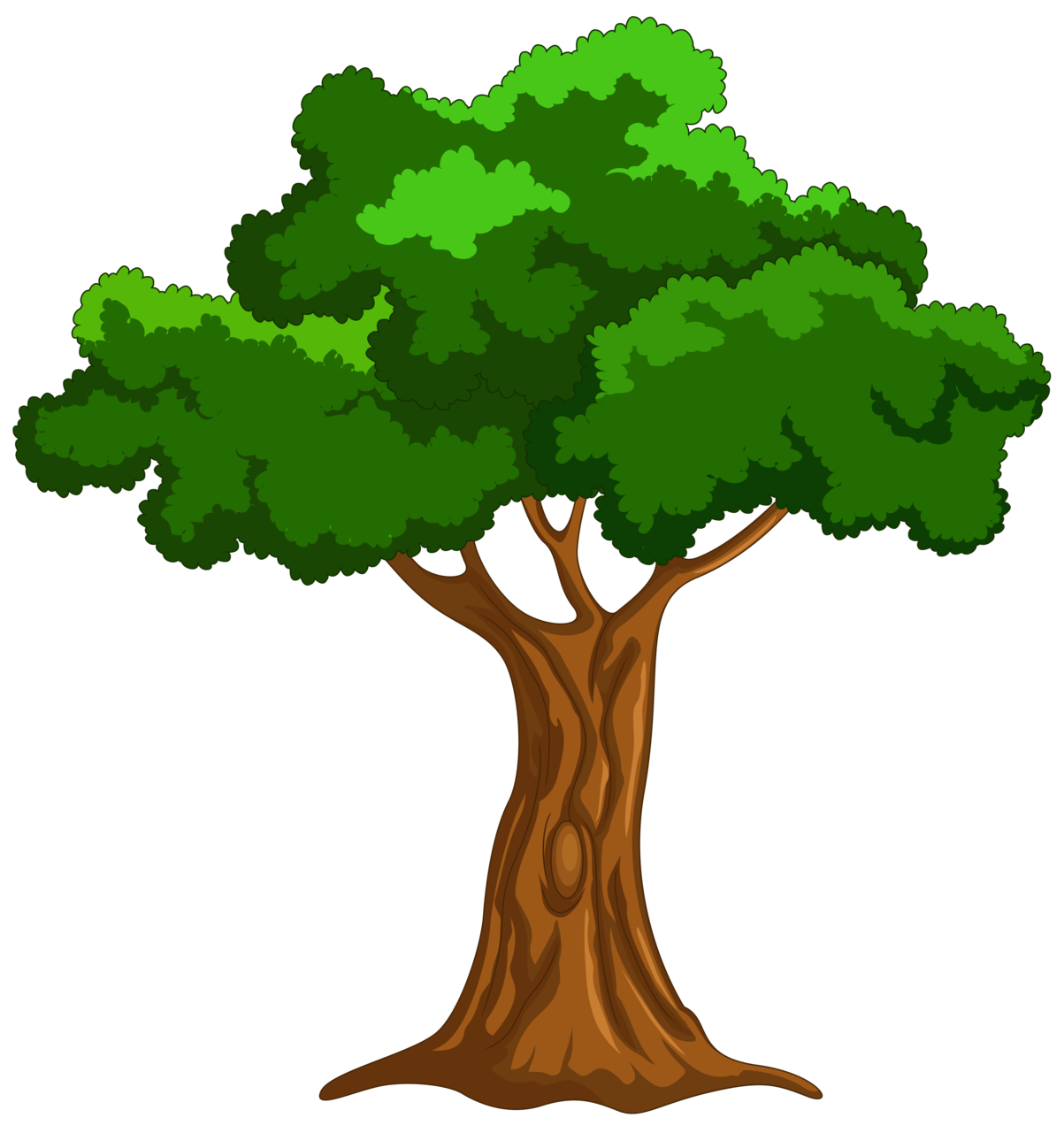 Treepng clipart picture freeuse Cartoon Tree PNG Clip Art picture freeuse