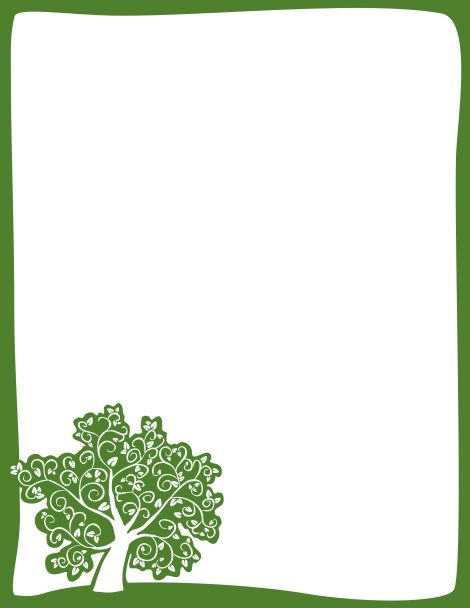 Trees clipart border svg free stock Free Tree Frame Cliparts, Download Free Clip Art, Free Clip ... svg free stock