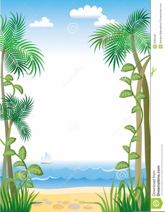 Trees clipart border jpg download Clipart Palm Tree Borders | Free Images at Clker.com ... jpg download