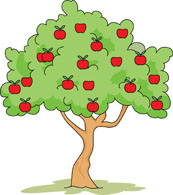 Trees cliparts png black and white Apple Tree Clip Art & Apple Tree Clip Art Clip Art Images ... png black and white