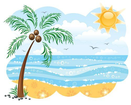 Trees water clipart jpg svg freeuse library 17 Best images about Palm Tree Clip Art and Cartoons on Pinterest ... svg freeuse library