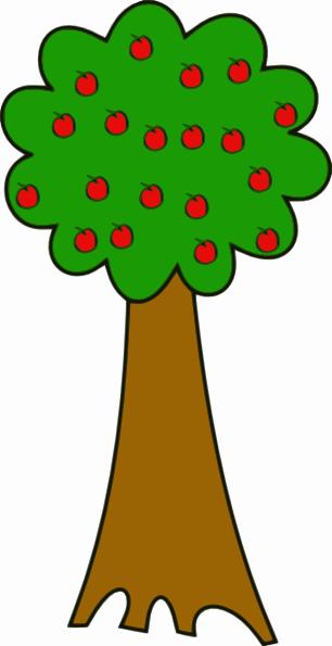 Tree With Fruits Clip Art at Clker.com - vector clip art ... vector royalty free