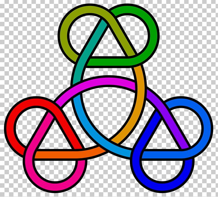 Trefoil knot clipart svg freeuse download Trefoil Knot Circle Triquetra PNG, Clipart, Area, Circle ... svg freeuse download