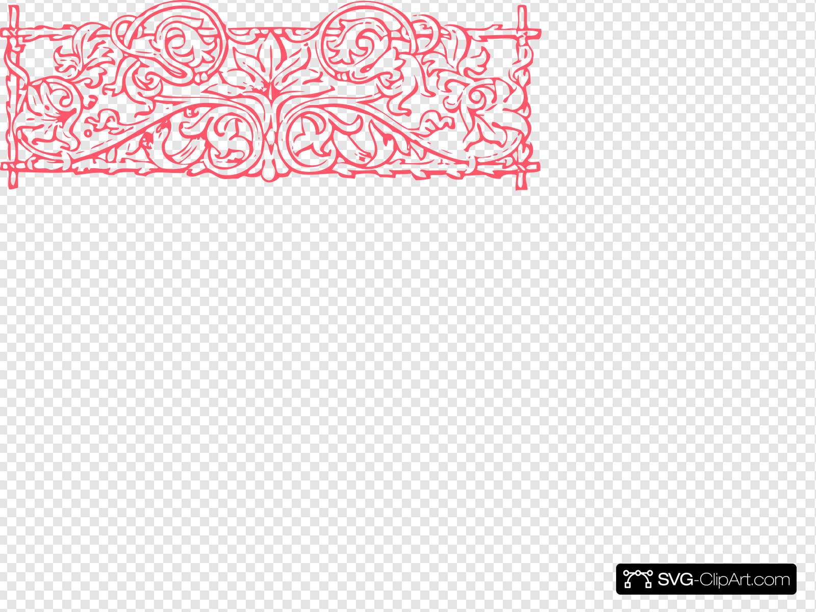 Pink Trellis Clip art, Icon and SVG - SVG Clipart graphic free download