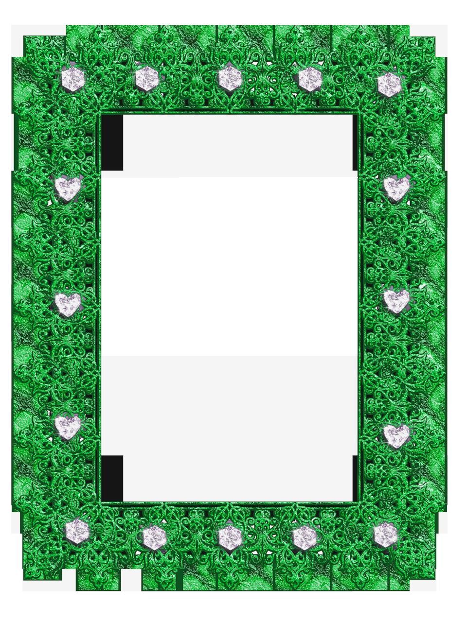 Trendy pumpkin clipart border vector freeuse stock Green Transparent Frame with Diamonds | Frames | Pinterest vector freeuse stock