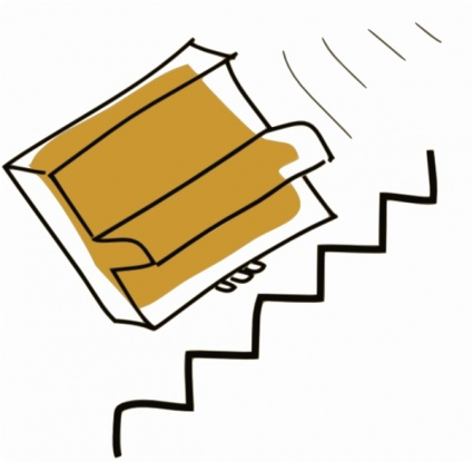 Treppe hinunter clipart image library library Addon Klavier fällt hinunter Treppe ClipArt cliparts, clipart ... image library library