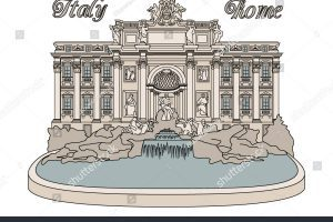 Trevi fountain clipart picture library library Trevi fountain clipart 6 » Clipart Portal picture library library
