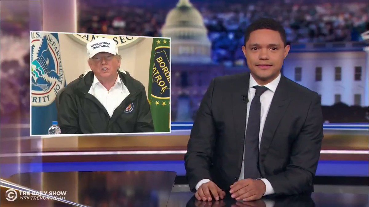 Trevor noah donald trump clipart thank you tour graphic stock The Daily Show on Twitter: \