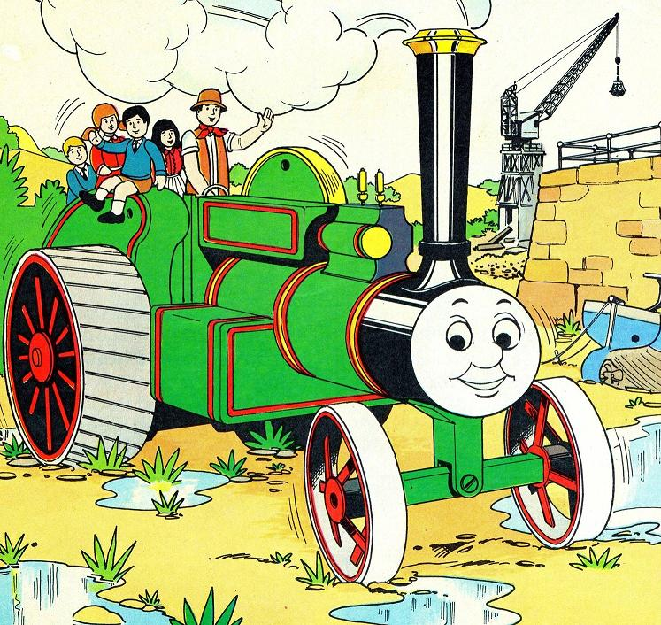 Trevor the traction engine clipart clip art free Thomas and Trevor (magazine story) | Thomas the Tank Engine ... clip art free