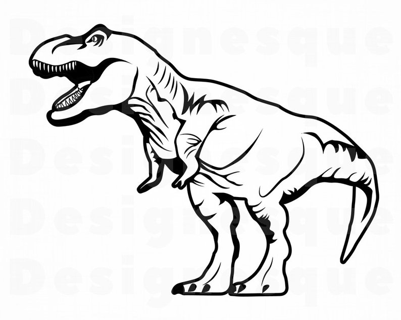 Trex face clipart black and white freeuse download Collection of Trex clipart | Free download best Trex clipart ... freeuse download