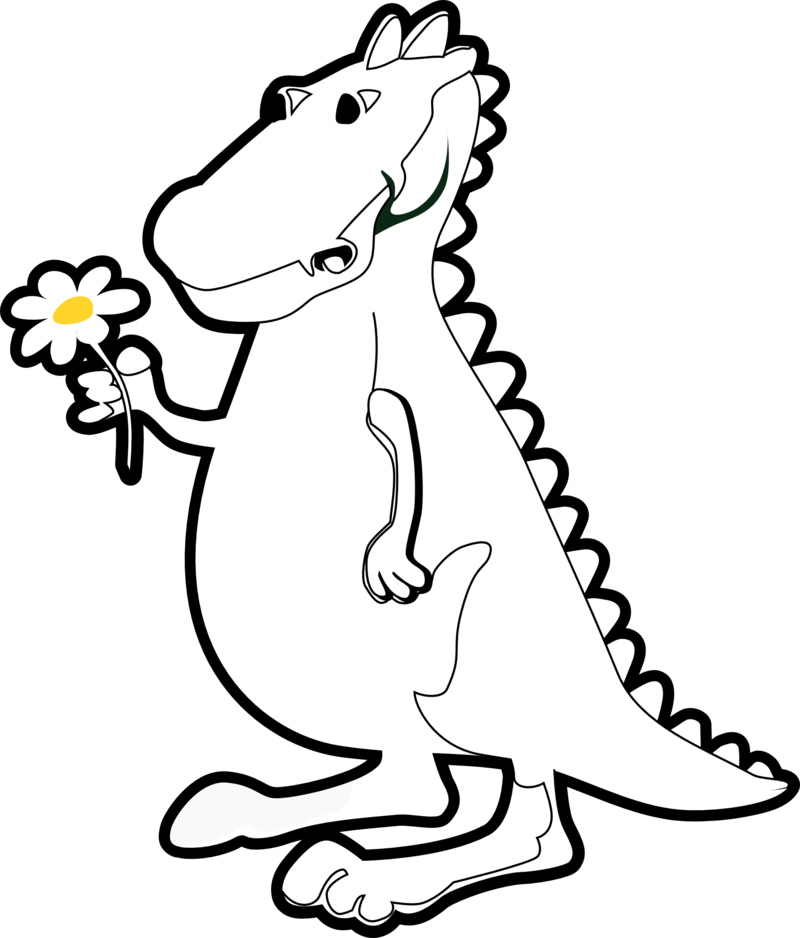 Trex face clipart black and white banner freeuse stock Download Free png trex clipart black and white - DLPNG.com banner freeuse stock