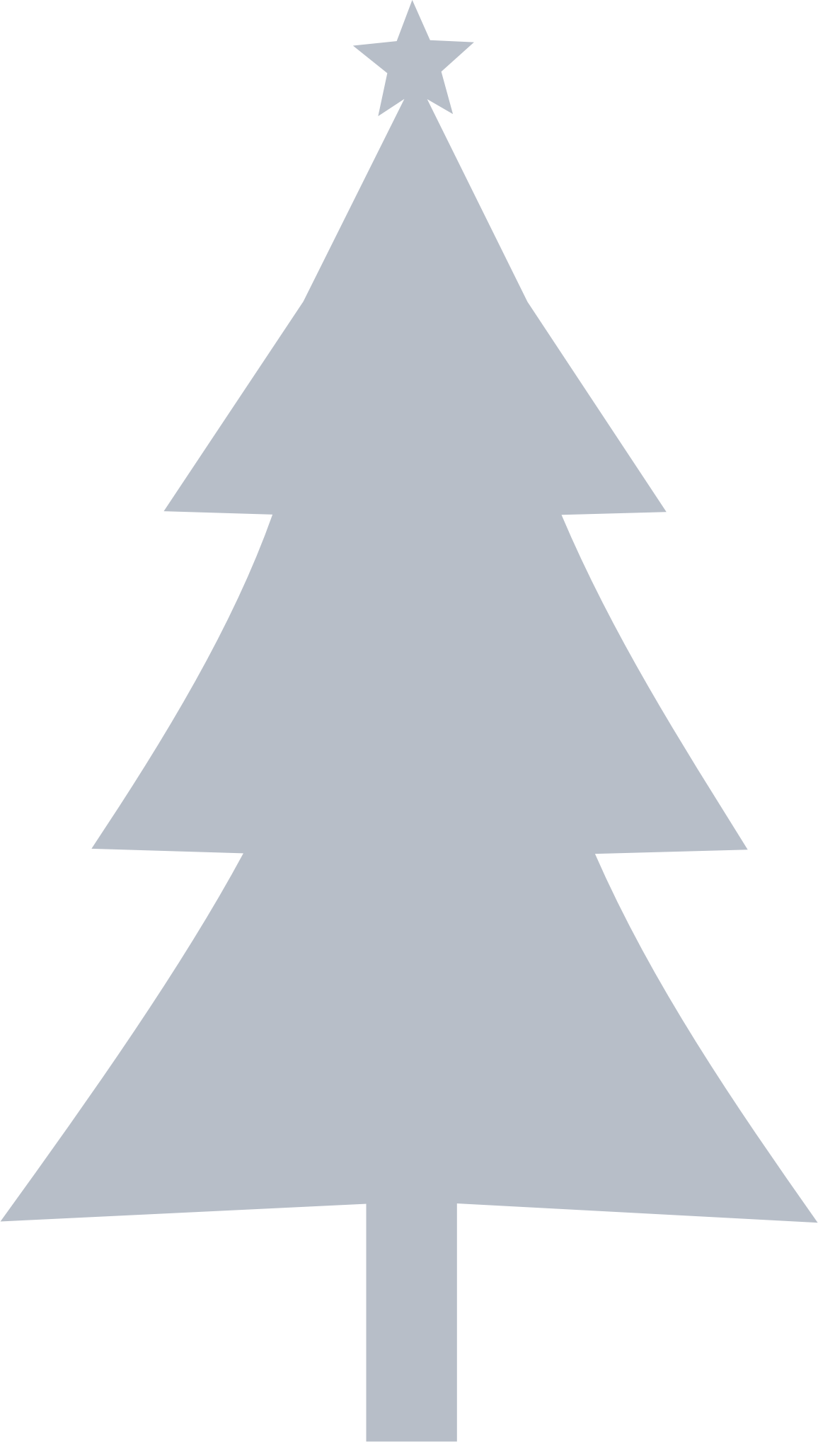 Clipart - Christmas tree Silhouette jpg freeuse download