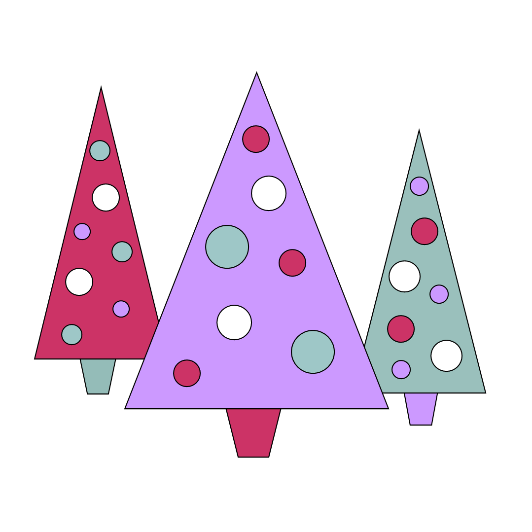 Triangle christmas tree clipart black and white vector transparent Free Clipart N Images: November 2011 vector transparent