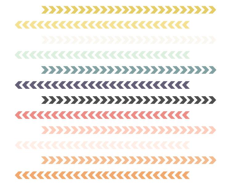 Tribal arrow border clipart graphic royalty free download Tribal Borders // Triangle Arrow Borders // Instant Download graphic royalty free download