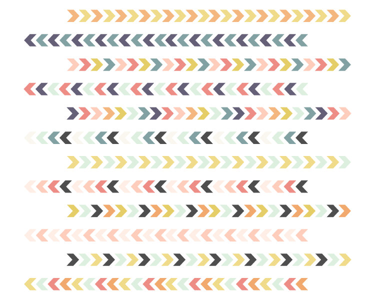 Tribal arrow border clipart picture free download Tribal Borders // Chevron Arrow Borders // Instant Download picture free download
