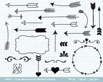 Tribal arrow border clipart picture black and white Tribal Arrow Clipart - Clipart Kid picture black and white