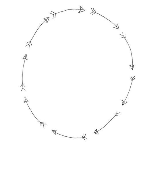 Tribal arrow border clipart png freeuse stock Arrow Border | Creative, Circles and Graphics png freeuse stock