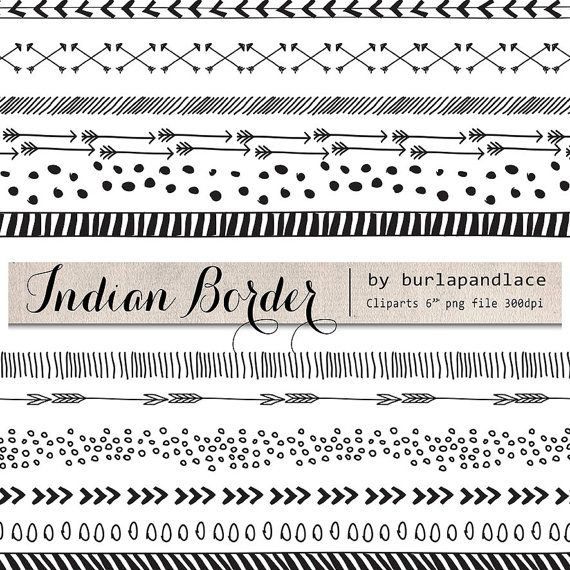Tribal arrow border clipart free 1000+ images about doodle on Pinterest | Clip art, Graphics and Indian free