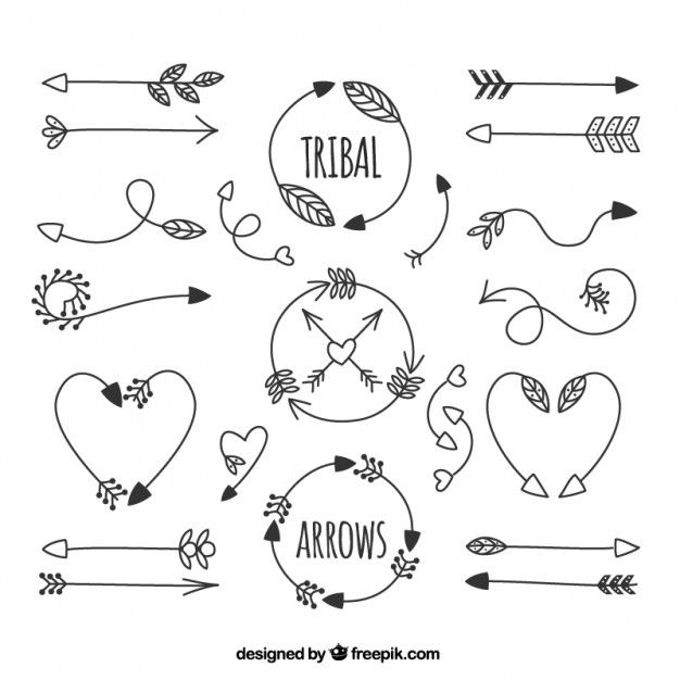 Tribal arrow circle clipart clip freeuse library 17 Best ideas about Tribal Arrows on Pinterest | Cool henna ... clip freeuse library