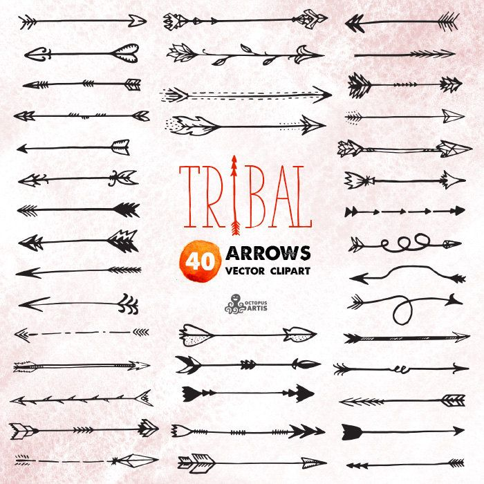 Tribal arrow clipart banner library stock 17 Best ideas about Tribal Arrows on Pinterest | Cool henna ... banner library stock