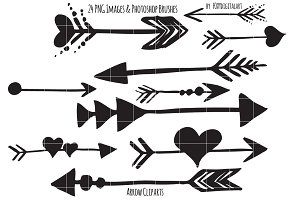 Tribal arrow clipart black and white png library library Png tribal arrows Photos, Graphics, Fonts, Themes, Templates ... png library library