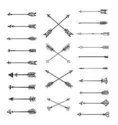 Tribal arrow clipart black and white single vector black and white stock lauren-salgado: Arrows on arrows on arrows. Drawn with microns in ... vector black and white stock