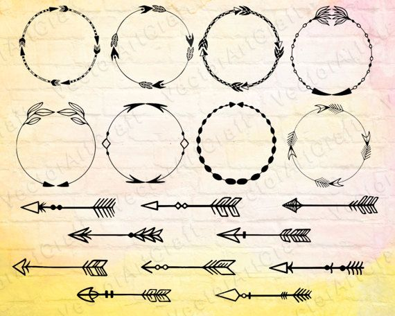 Tribal arrow clipart circle png freeuse stock 17 Best ideas about Circle Arrow on Pinterest | Free silhouette ... png freeuse stock