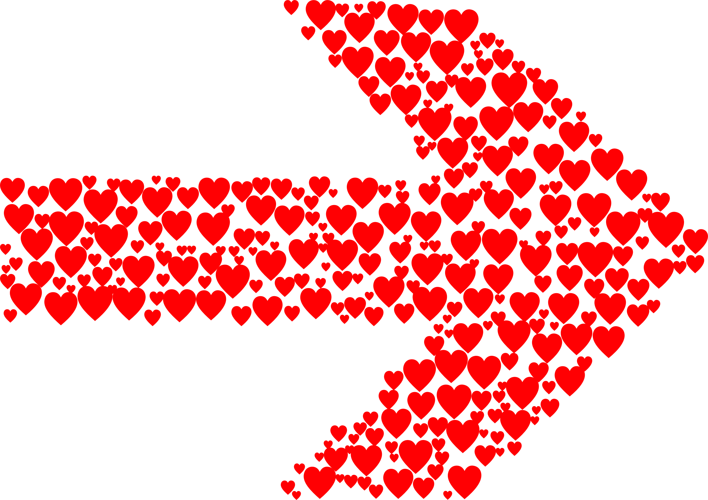 Tribal arrow clipart heart banner free library Hearts Arrow Icons PNG - Free PNG and Icons Downloads banner free library