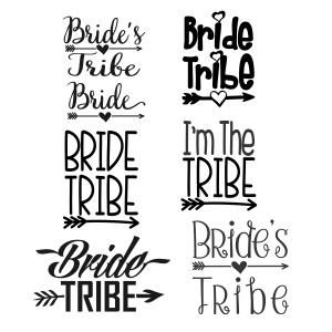 Tribal arrow clipart heart image black and white stock Wedding Bride Tribe Pack with Arrow and Heart Cuttable Design Cut ... image black and white stock