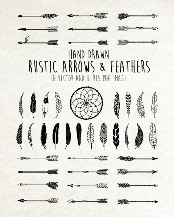 Tribal arrow clipart png svg freeuse download Dream Catcher, Feather Clipart, Arrow Clipart - Tribal, Boho ... svg freeuse download