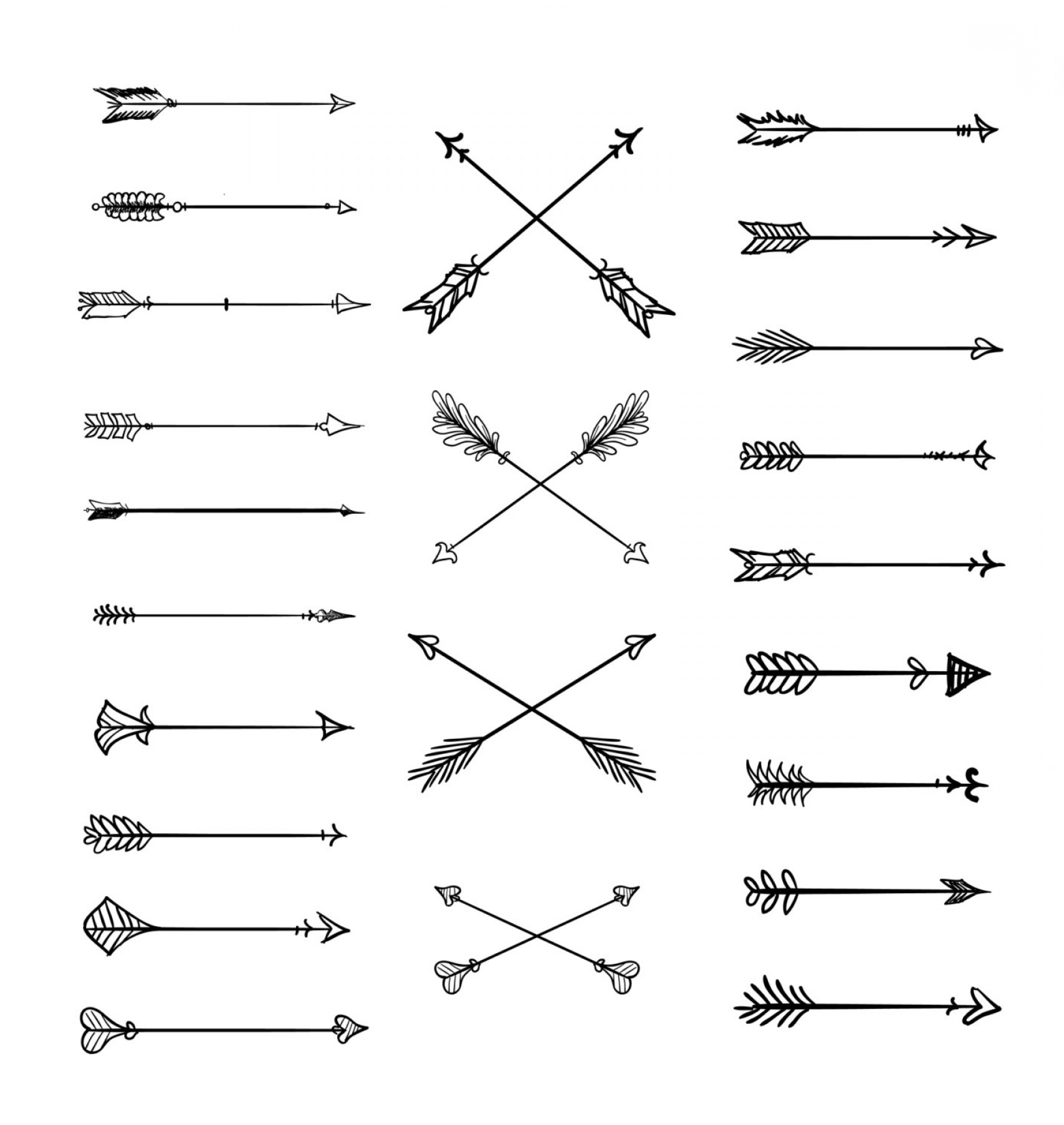 Tribal arrow clipart vector png royalty free stock Top Tribal Arrow Vector Layout | VectoRealy png royalty free stock