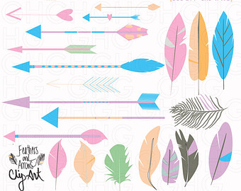 Tribal arrow feather clipart clip free download Tribal arrow feather clipart - ClipartFest clip free download