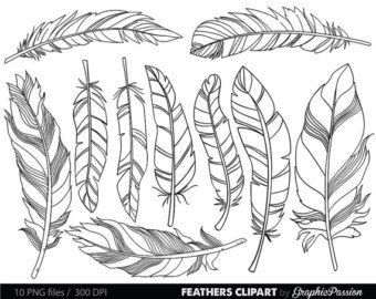 Tribal arrow feather clipart black and white svg transparent Arrows clip art tribal arrow clipart archery hand drawn svg transparent