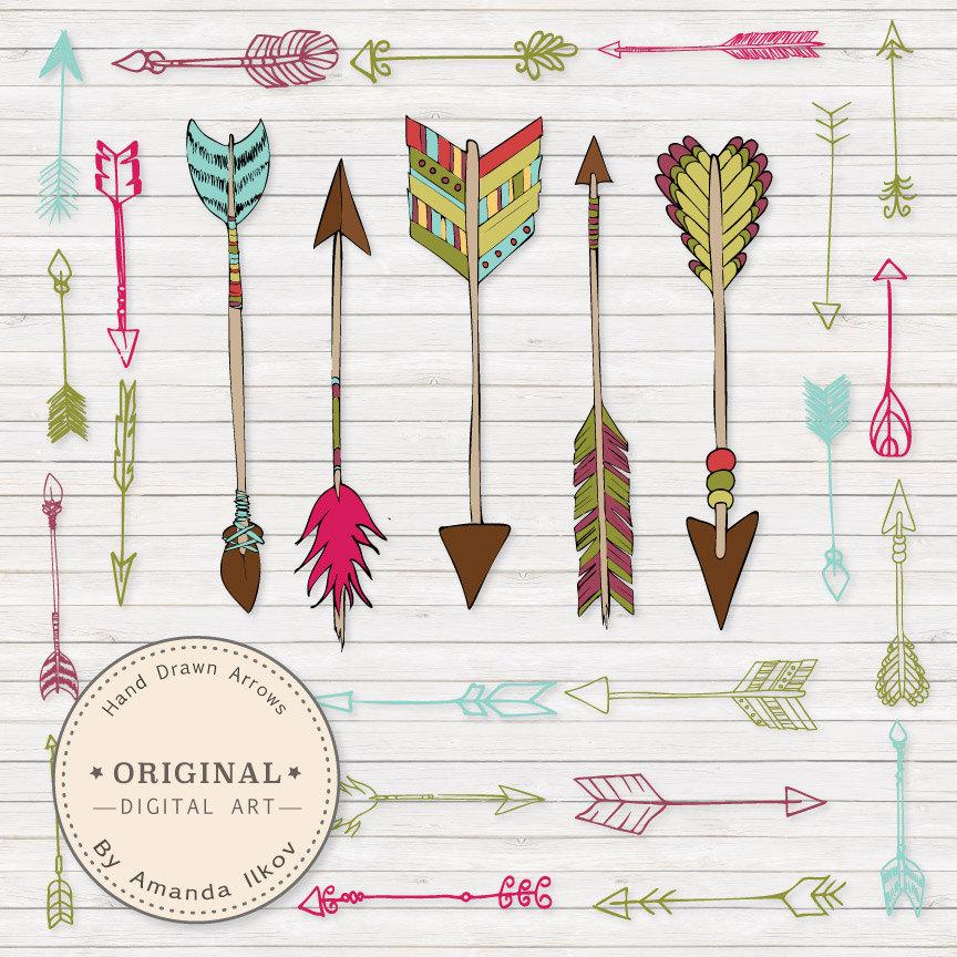 Tribal arrow free clipart clipart freeuse stock Bohemian Clipart | Free Download Clip Art | Free Clip Art | on ... clipart freeuse stock