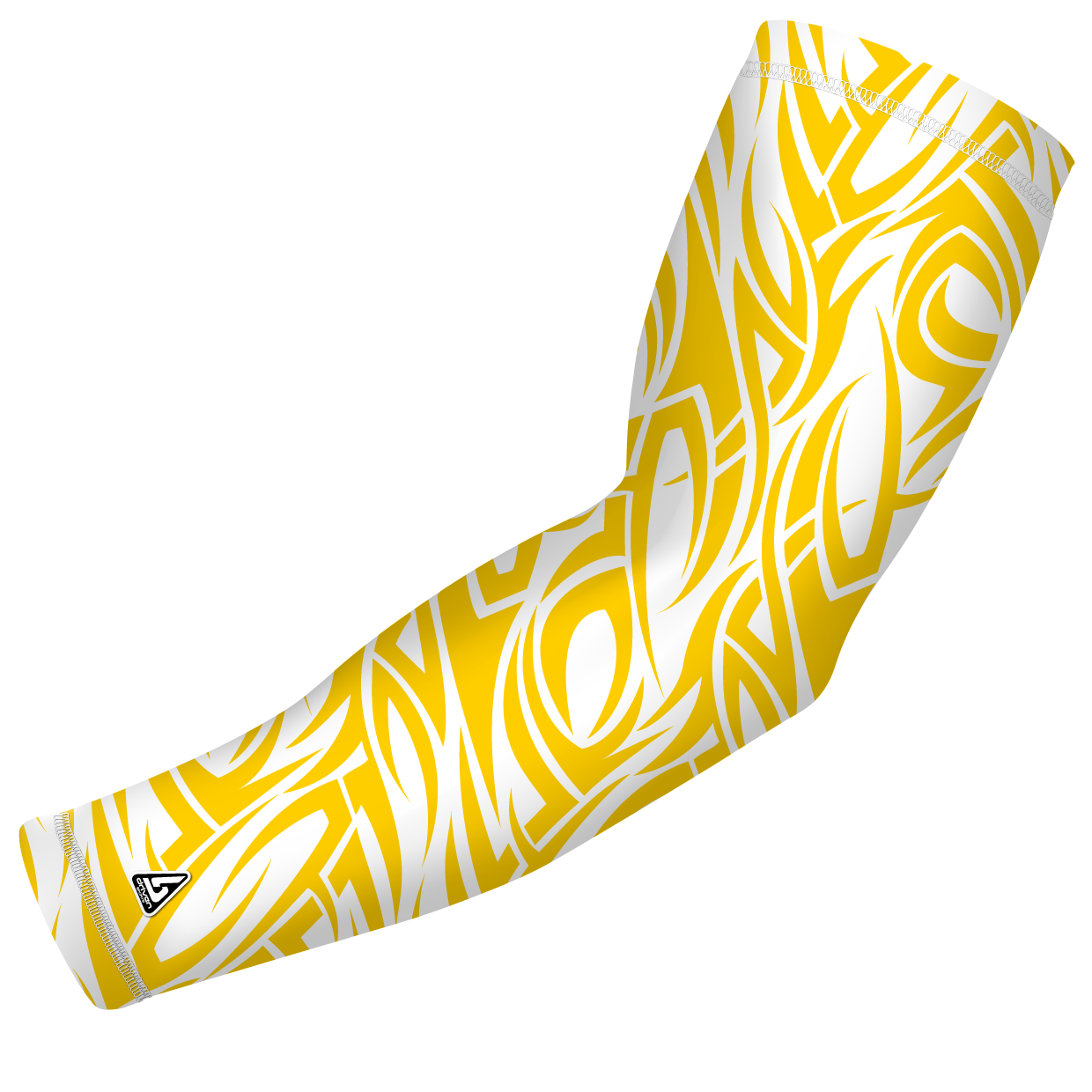Tribal baseball clipart png free stock Tribal Wind Yellow | Compression arm sleeves and Products png free stock
