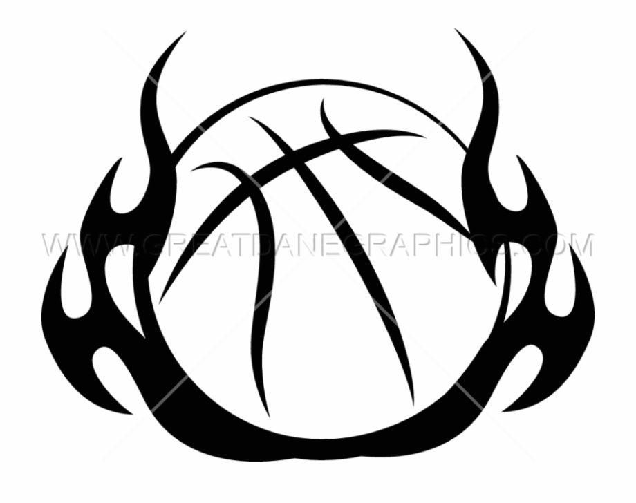 Tribal beach clipart graphic Flame Clipart Basketball - Basketball Ball Tribal Design ... graphic