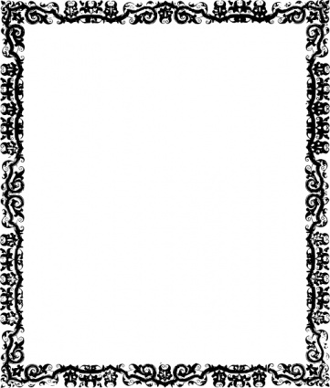 Tribal clipart borders png royalty free download Free Border Design Black And White Tribal, Download Free ... png royalty free download